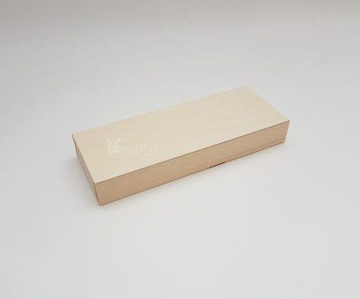 Cutie penar din lemn - compartimentat