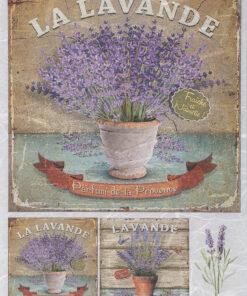 Hârtie de orez – La Lavande - A4 - A5 - PR3504
