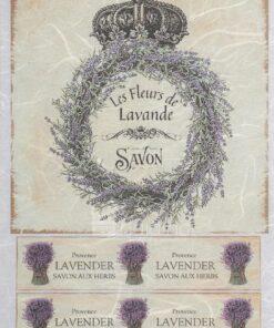 Hârtie de orez – Le fleur de Lavande - PR1161