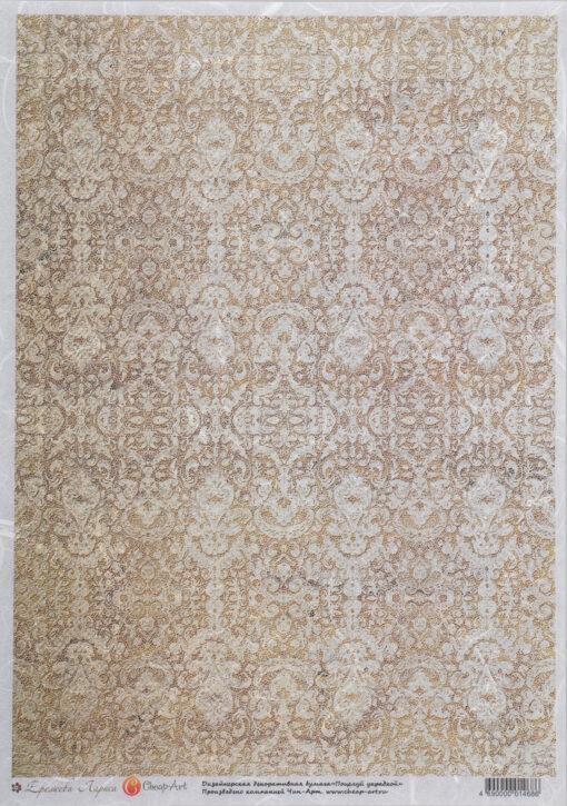 Hârtie de orez - decoupage -PR1468-СА-A4