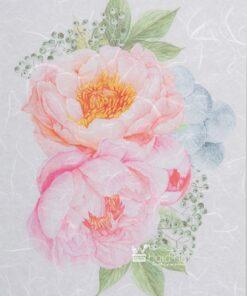 Hartie de orez - roses pink - PR2265-A4