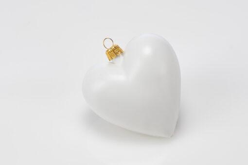 Inimioară - decorațiune crăciun - 8 cm