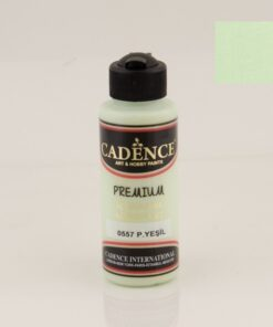 Vopsea acrilică - pastel green - CADENCE - 120 ml