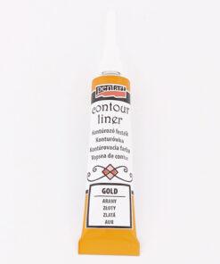 Vopsea contur auriu - 20 ml - Pentart