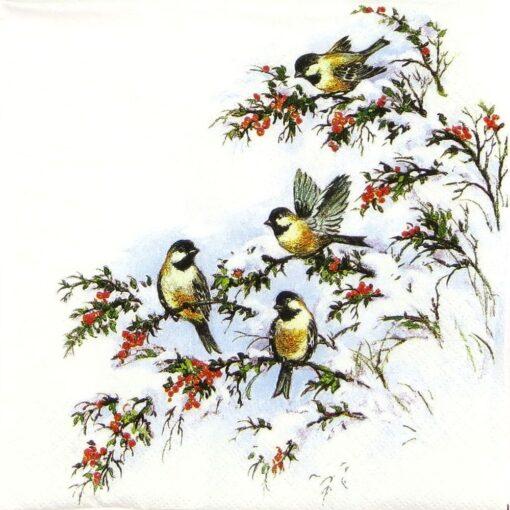 Șervetel - Sophy's birds 25×25 cm