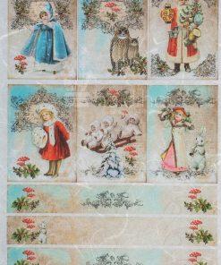 Hârtie de orez - poveste de Crăciun - A4
