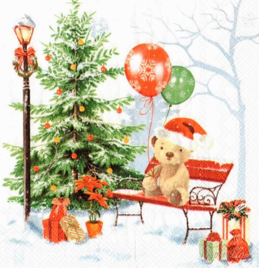 Servetel - cadou de Crăciun - 33x33 cm