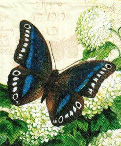 Servetel - fluture de vara - 25x25 cm