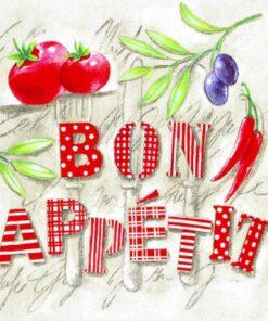 Șervețel - Bon Appetit - 33x33 cm