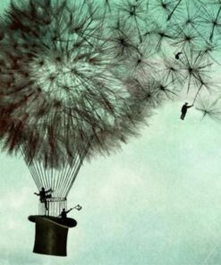 Șervețel - Fly away - 33x33 cm