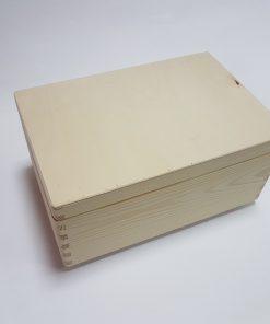 Cutie ladă lemn - 30x20x14 cm