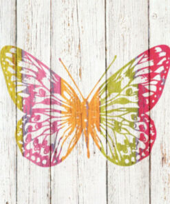 Servetel - Happiness Butterfly - 33x33 cm