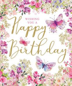 Șervețel - Happy Birthday - 33x33 cm