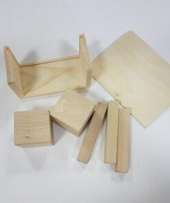Calendar perpetuum lemn