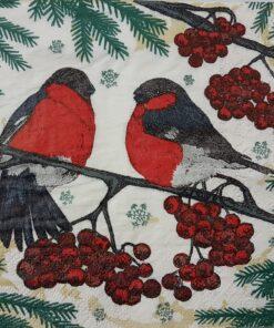 Servetel - pixie birds - 33x33 cm