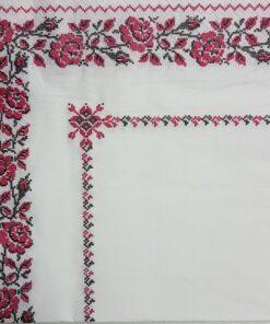 Servetel - trandafiri folk - 33x33 cm