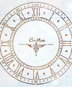 Șablon – cadran ceas – 30×30 cm