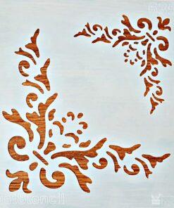 Șablon – colțuri – corner – 20×20 cm