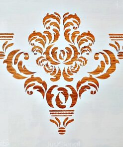 Șablon – damask 1302 – 30×30 cm