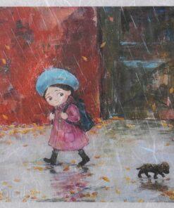 Hârtie de orez - Nino Chakvetadze 2216 - A5
