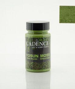 Pastă efect mușchi de pământ - dark green - CADENCE - 90 ml