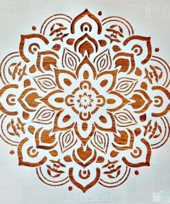 Sablon – mandala pattern – 30×30 cm