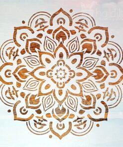 Sablon - mandala - 30x30 cm - cod 1120