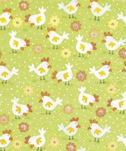 Șervețel - Chicken farm - 33x33 cm