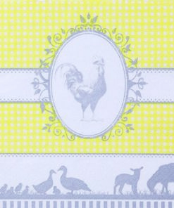 Șervețel - Country yellow - 33x33 cm
