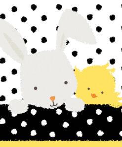 Șervețel - Easter Friends - 33x33 cm