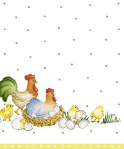 Șervețel - Easter farm - 33x33 cm