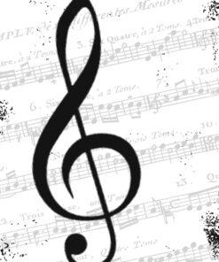 Șervețel - I Love Music - 2- 33x33 cm - sPPD176