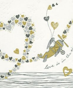 Șervețel - Moments Love - 33x33 cm