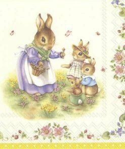 Șervețel - Spring fantasy Easter - 33x33 cm