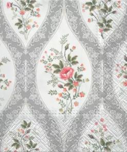 Șervețel - Wallpaper with Flowers - 33x33 cm
