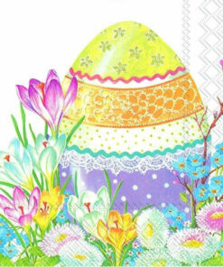Șervețel - decorative easter egg - 33x33 cm
