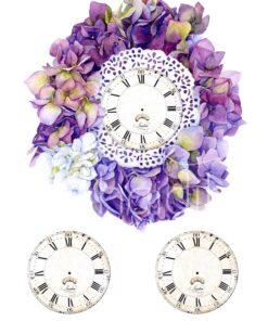 Hârtie decoupage - Antiques clock 1 - A4