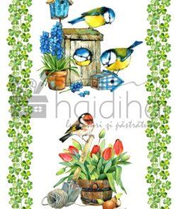 Hârtie decoupage - Garden 2 - A4