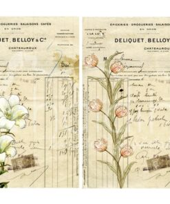 Hârtie decoupage - Herbal 9 - A4