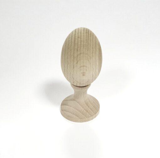 Suport din lemn pentru ou - plat 1