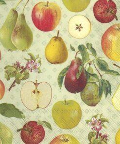 Șervețel – Apple and Pear – 33×33 cm