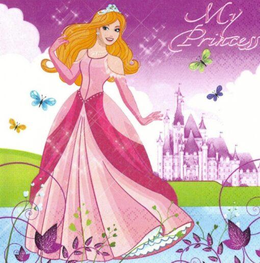 Șervețel – Beautiful Princess – 33×33 cm