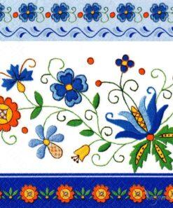 Șervețel - Kashubian Folk 8 - 33×33 cm