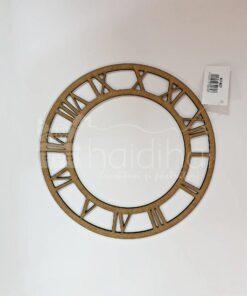 Cadran ceas - numere romane - diam. 21,5 cm