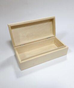 Cutie lemn pentru decorat - 24 x 11,5 cm