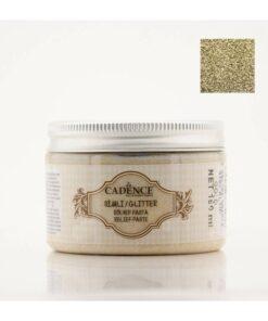 Pastă relief cu sclipici auriu - 150 ml - Cadence