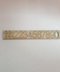 Set de 12 cifre arabe - pentru ceas - 2,2 cm