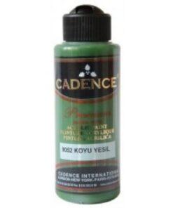 Vopsea acrilică – dark green – CADENCE – 120 ml