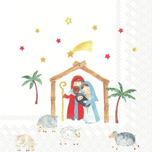 Șervețel – Christmas Family – 33×33 cm