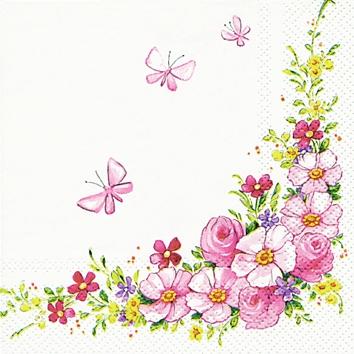 Șervețel - Cute Flowers - 25x25 cm
